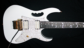 Ibanez Jem7V with custom modifications