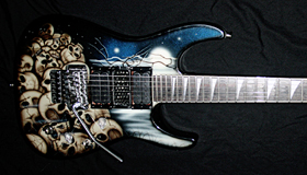 Jackson Soloist with custom modifications